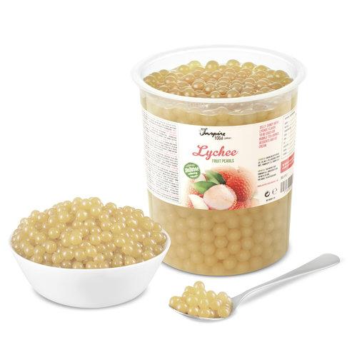 1kg Vaso perle di frutta - Litchi -