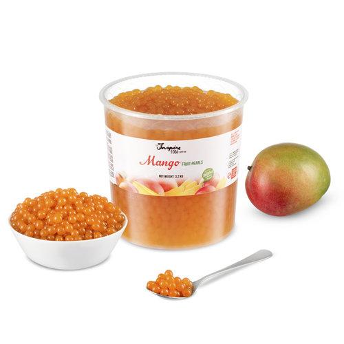 Fruchtperlen für Bubbletea - Mango - ( 3,2 kg )