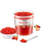 Fruchtperlen für Bubblete - Erdbeere - ( 3,2 kg )
