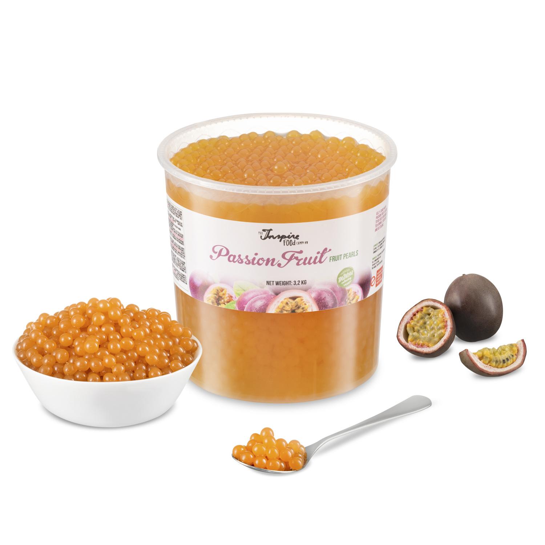 - Fruta de la Pasión - Perlas de Frutas ( 3,2 kg CUBO )