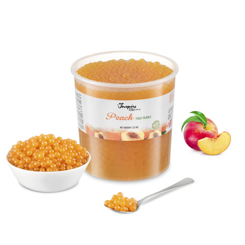 - Melocotón - Perlas de Frutas ( 3,2 kg CUBO )