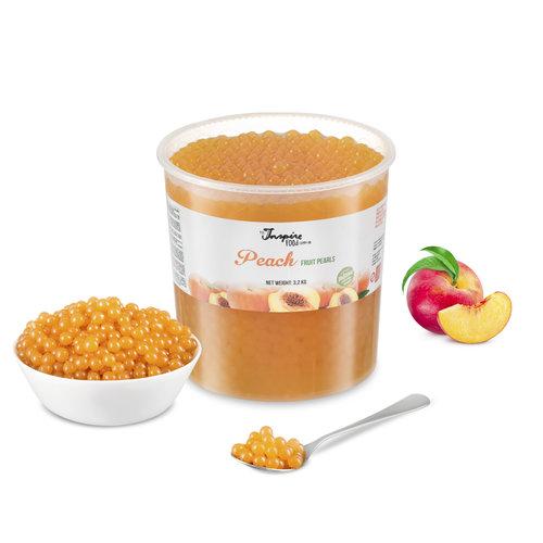 - Peach - Fruit Pearls ( 3.2kg TUB )