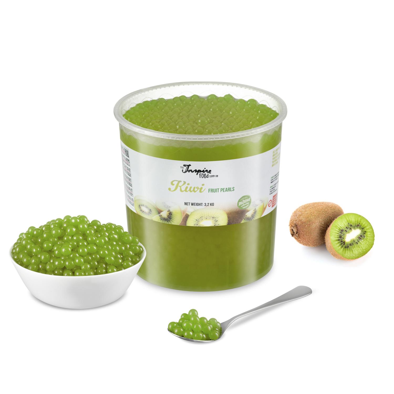 Fruit Parels voor Bubbletea - Kiwi - ( 3.2kg ) -