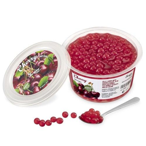 450gr Becher Fruchtperlen Kirsche