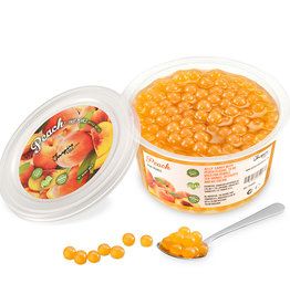 450 gr Frugtperler - fersken -