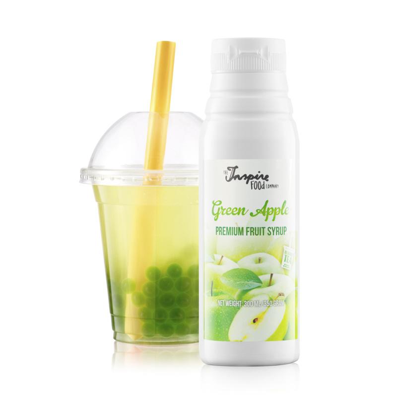 300 ml Premium - manzana verde - Jarabe de frutas -
