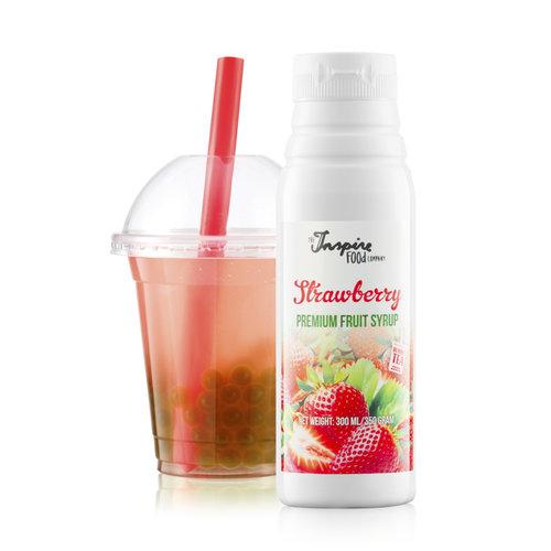 300 ml Premium - Fresa - Jarabe de frutas -