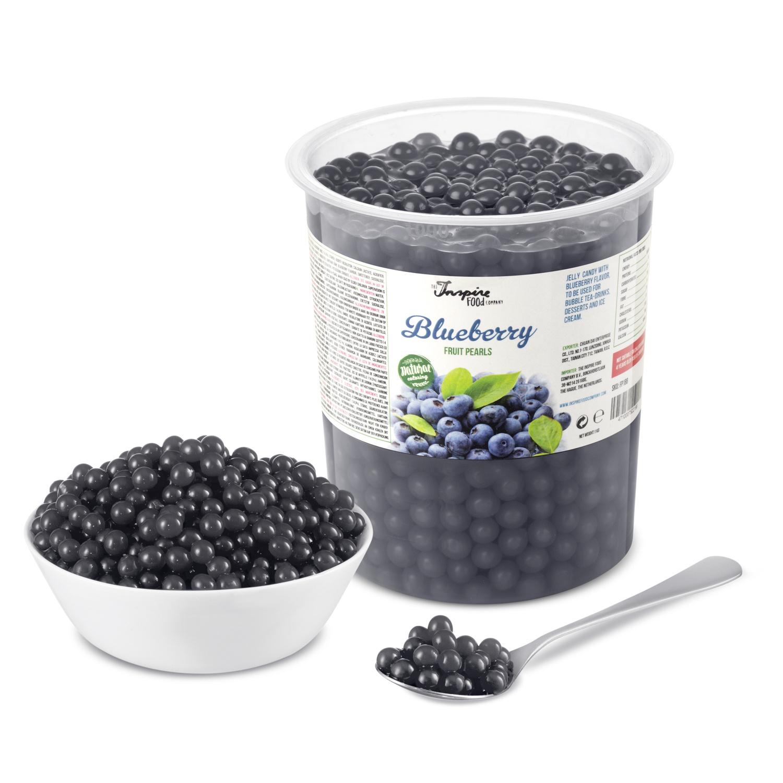 1kg pot Fruit parels Bosbessen