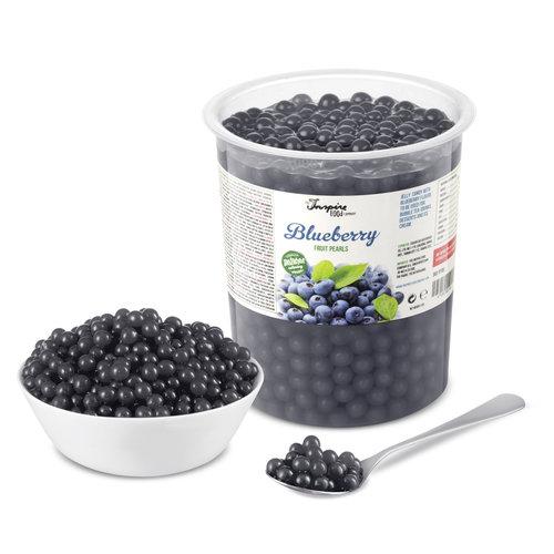 1kg krukke Frugtperler - Blåbær-