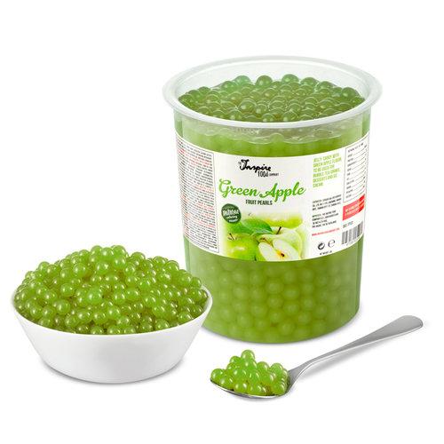 1kg krukke Frugtperler - Grønne æbler -