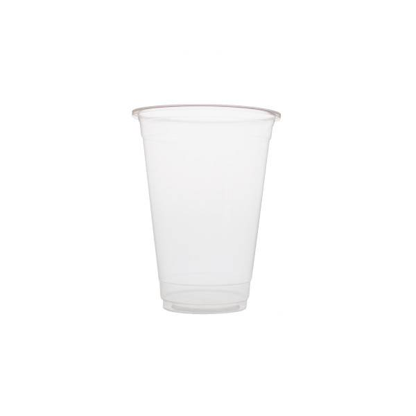 Plastic cups 500ml Blanko