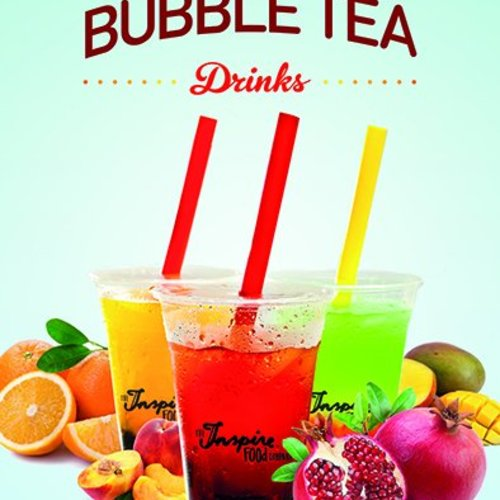 Bubble tea plakat A5 PDF