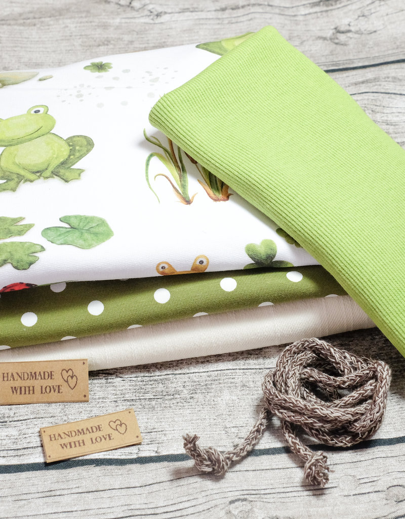 swafing Stoffpaket Froggy Frosch EP