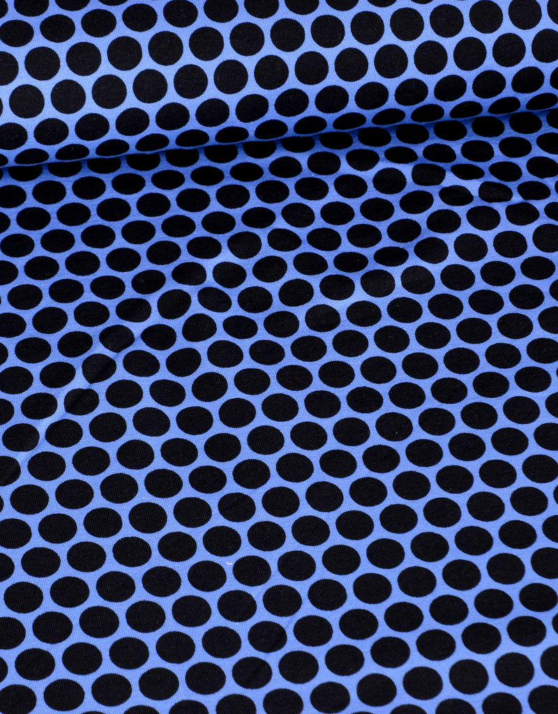 Swafing French Terry cool circle style schwarz blau