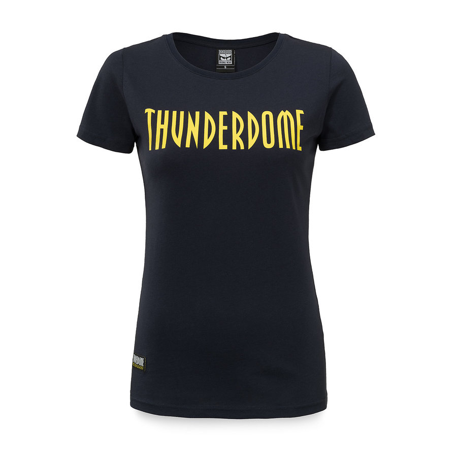 Thunderdome t-shirt navy/yellow