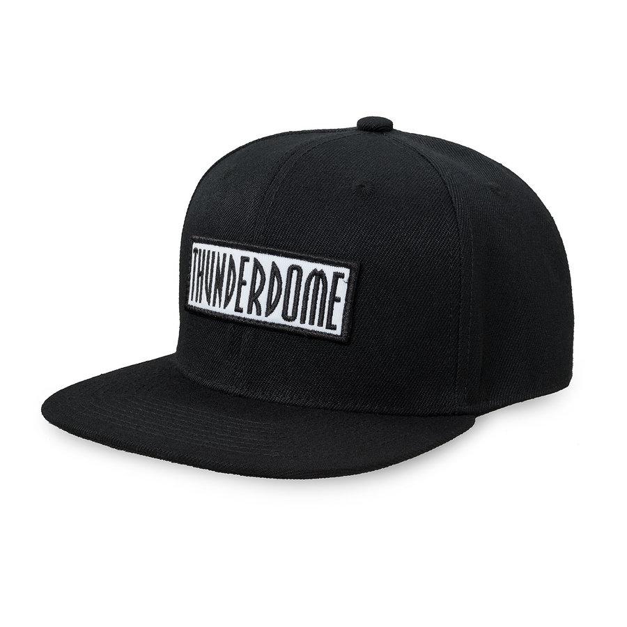 Thunderdome snapback black/white