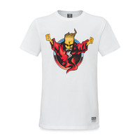 Thunderdome t-shirt wizard white