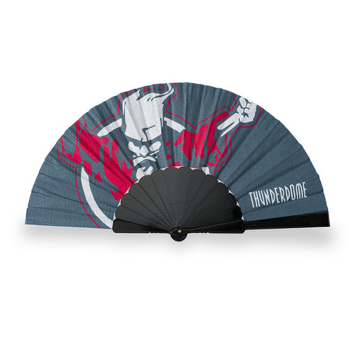Thunderdome Thunderdome handfan teal/black