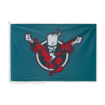 Thunderdome Thunderdome flag teal/red