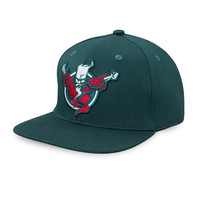 Thunderdome snapback teal/red