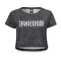 Thunderdome short tee grey/camo
