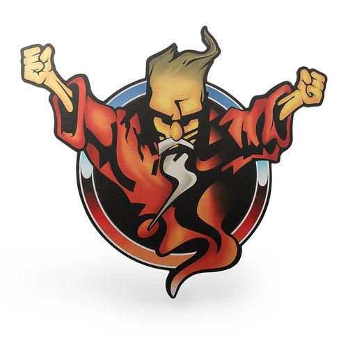 Thunderdome Thunderdome Wizard 47x43 Dibond