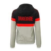 Thunderdome tracksuit jacket black/grey