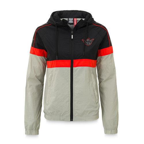 Thunderdome Thunderdome tracksuit jacket black/grey