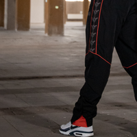 Thunderdome tracksuit pants black