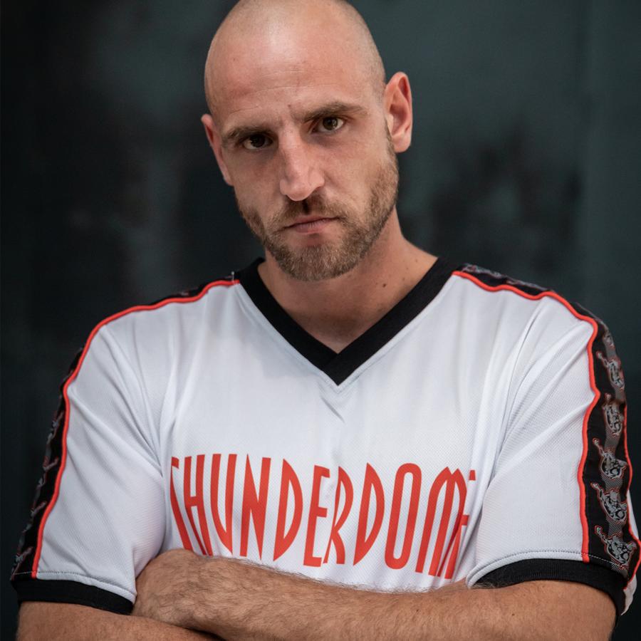 Thunderdome football shirt white