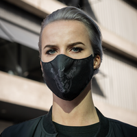 Thunderdome face mask black