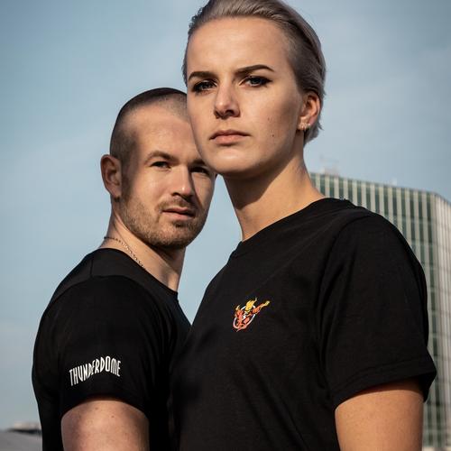 Thunderdome Thunderdome t-shirt black