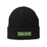 Thunderdome beanie black/fluor green