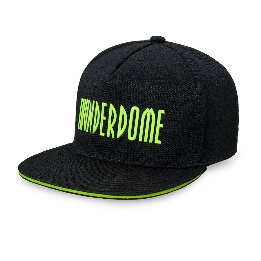 Thunderdome snapback black/fluor green