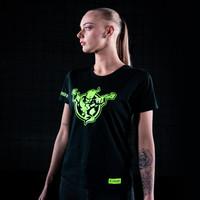 Thunderdome t-shirt black/fluor green