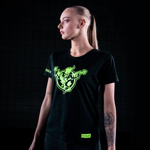 Thunderdome Thunderdome t-shirt black/fluor green