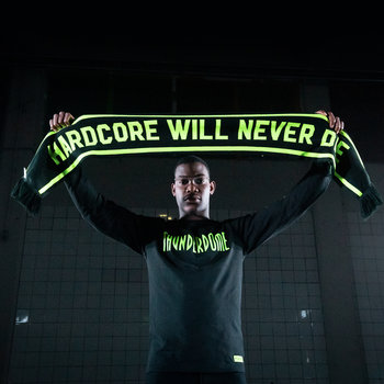 Thunderdome Thunderdome scarf black/fluor green