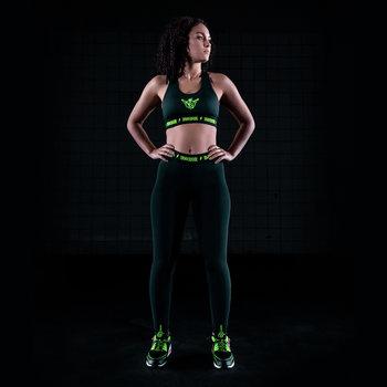 Thunderdome Thunderdome legging black/fluor green