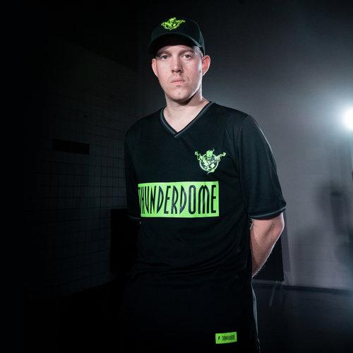 Thunderdome Thunderdome football shirt black/fluor green