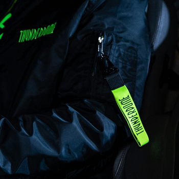Thunderdome Thunderdome keychain fluor green/black