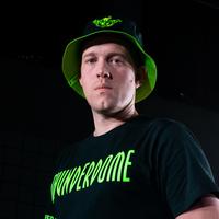 Thunderdome bucket hat black/fluor green