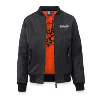 Thunderdome bomber black/red women