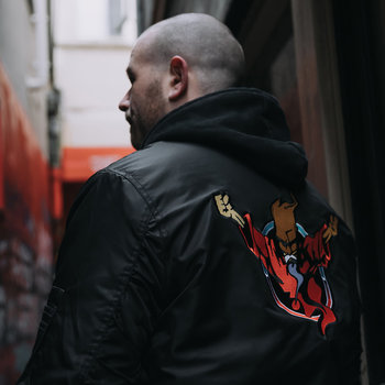 Thunderdome Thunderdome bomber black/red men