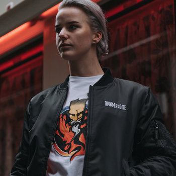 Thunderdome Thunderdome bomber black/red women