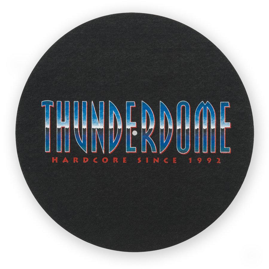 Thunderdome turntable slipmat 2 pack