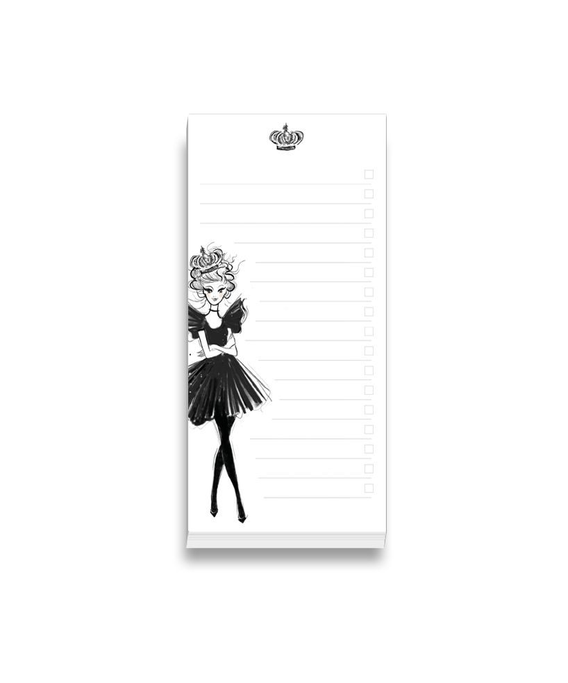 """To-Do Pad """"Queen for a Day"""""""
