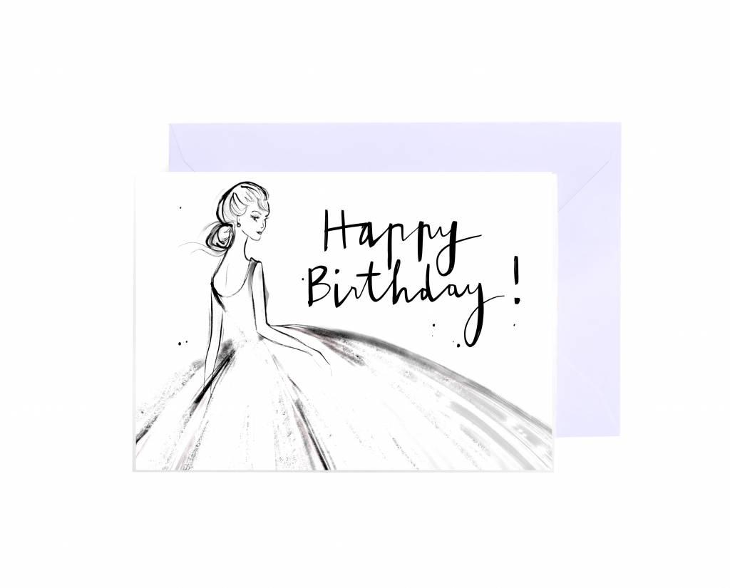 "Grußkarte ""Happy Birthday"""