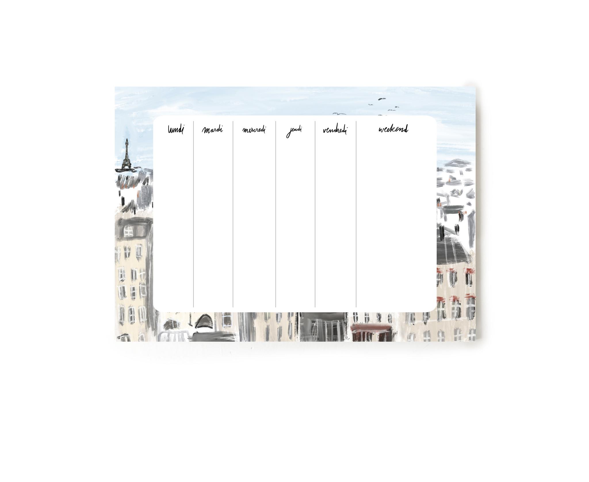 """Notepad """"Paris"""""""