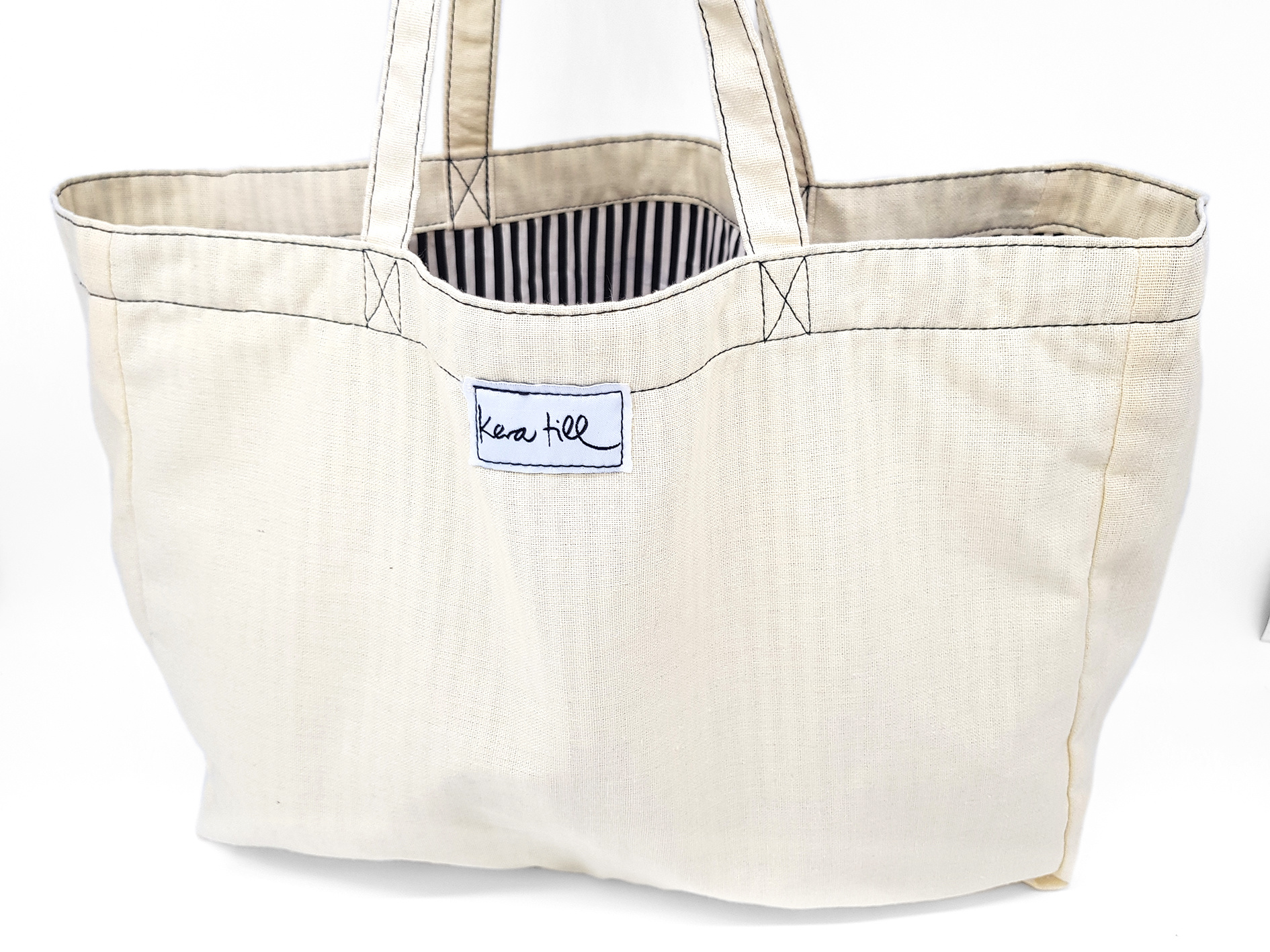 "Canvas Shopper ""Bulle"""