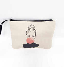 "Canvas Pochette ""Bulle"""